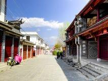 Традиционные жилые дома XiZhou Стоковая Фотография