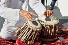 Традиционные индийские барабанчики tabla Стоковое Изображение RF
