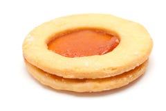 Традиционные канарские печенья масла и абрикоса сжимают Стоковое Фото