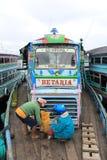 Традиционные корабль и пассажир Стоковое Изображение RF