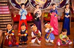 Традиционные корейские сувениры перемещения стоковые фотографии rf