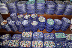 Традиционные местные сувениры в Джордане, Ближний Востоке Стоковые Фото