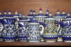 Традиционные местные сувениры в Джордане, Ближний Востоке Стоковые Изображения
