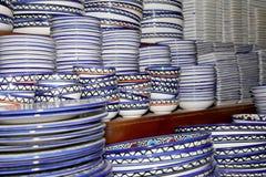 Традиционные местные сувениры в Джордане, Ближний Востоке Стоковая Фотография
