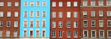 Традиционные дома в Дублине, Ирландии Стоковое фото RF