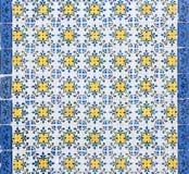 Традиционные португальские керамические плитки Стоковые Изображения