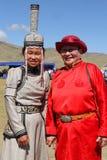 Традиционные платья Монголии Стоковое фото RF