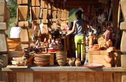 Традиционные русские сувениры Стоковая Фотография RF