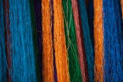 Традиционные ткани Тибета Стоковые Изображения