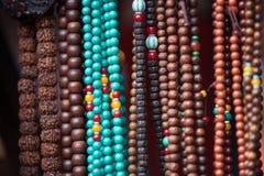 Традиционные ткани Тибета Стоковые Фотографии RF