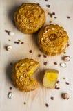 Традиционные торты луны стоковое фото rf