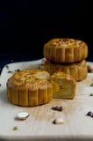 Традиционные торты луны стоковое фото