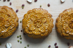 Традиционные торты луны стоковое изображение