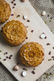 Традиционные торты луны стоковые фото