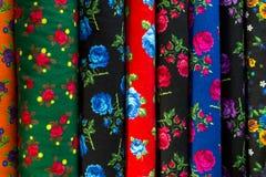 Традиционные турецкие ткани, предпосылка Стоковое Изображение RF