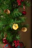 Традиционные украшения рождества Стоковая Фотография RF