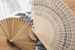 Традиционные художнические вентиляторы стоковые изображения rf