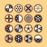 Традиционные slovan торты Стоковые Фотографии RF