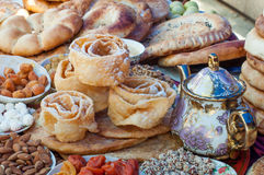 Традиционный Азербайджан испек Стоковые Изображения RF