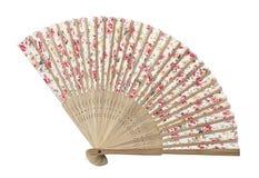 Традиционный азиатский вентилятор Стоковая Фотография