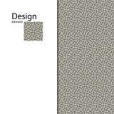 Традиционный арабский безшовный орнамент вектор Справочная информация Стоковая Фотография RF