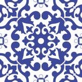 Традиционный арабский безшовный орнамент вектор backhander Стоковые Фотографии RF