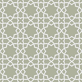 Традиционный арабский безшовный орнамент вектор backhander Стоковое Изображение