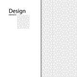 Традиционный арабский безшовный орнамент Геометрическая картина безшовная для вашего дизайна Стоковое Изображение RF