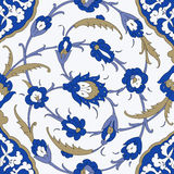 Традиционный арабский орнамент безшовный для вашего дизайна вектор Справочная информация Стоковые Изображения