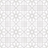 Традиционный арабский орнамент безшовный для вашего дизайна Обои настольного компьютера Справочная информация Iznik Стоковая Фотография