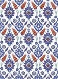 Традиционный арабский орнамент безшовный для вашего дизайна Обои настольного компьютера Справочная информация Iznik Стоковое фото RF