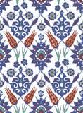 Традиционный арабский орнамент безшовный для вашего дизайна Обои настольного компьютера Справочная информация Iznik Стоковые Изображения RF