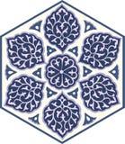 Традиционный арабский орнамент безшовный для вашего дизайна Обои настольного компьютера Справочная информация Iznik Стоковое Изображение RF