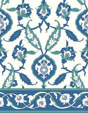 Традиционный арабский орнамент безшовный для вашего дизайна Обои настольного компьютера Справочная информация Iznik Стоковая Фотография RF