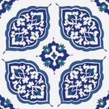 Традиционный арабский орнамент безшовный Стоковые Изображения