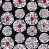 Традиционный африканский орнамент с свирлями Безшовная скороговорка вектора