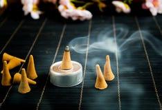Традиционный ладан конуса Стоковая Фотография