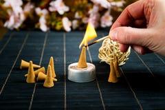 Традиционный ладан конуса Стоковые Фотографии RF