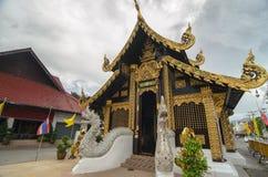 Традиционный буддийский висок в Таиланде Стоковые Изображения
