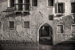 Традиционный венецианский дом, Италия Стоковое Изображение