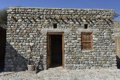 Традиционный восточный каменный дом Стоковые Фото