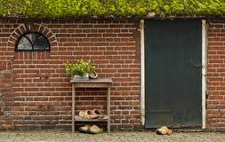 Традиционный голландский деревянный ботинок Стоковые Фотографии RF