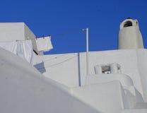 Традиционный греческий дом стоковая фотография rf