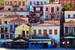 Традиционный греческий остров Стоковая Фотография