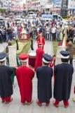 Традиционный диапазон армии тахты Стоковое Изображение