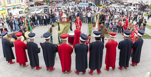 Традиционный диапазон армии тахты Стоковые Фото
