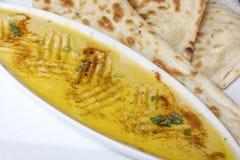 Традиционный индийский фрай dal еды Стоковые Изображения RF