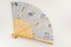 Традиционный испанский вентилятор Стоковое фото RF