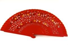 Традиционный испанский вентилятор Стоковые Фотографии RF