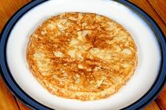 Традиционный испанский tortilla. Стоковая Фотография